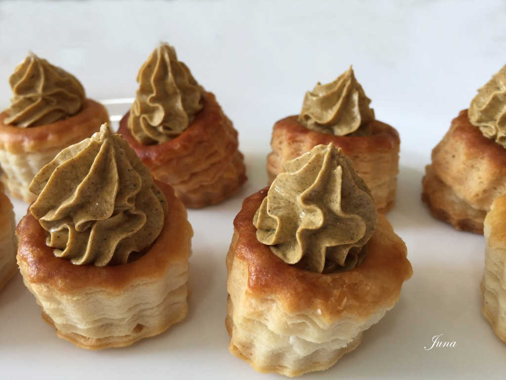 crema mejillones relleno