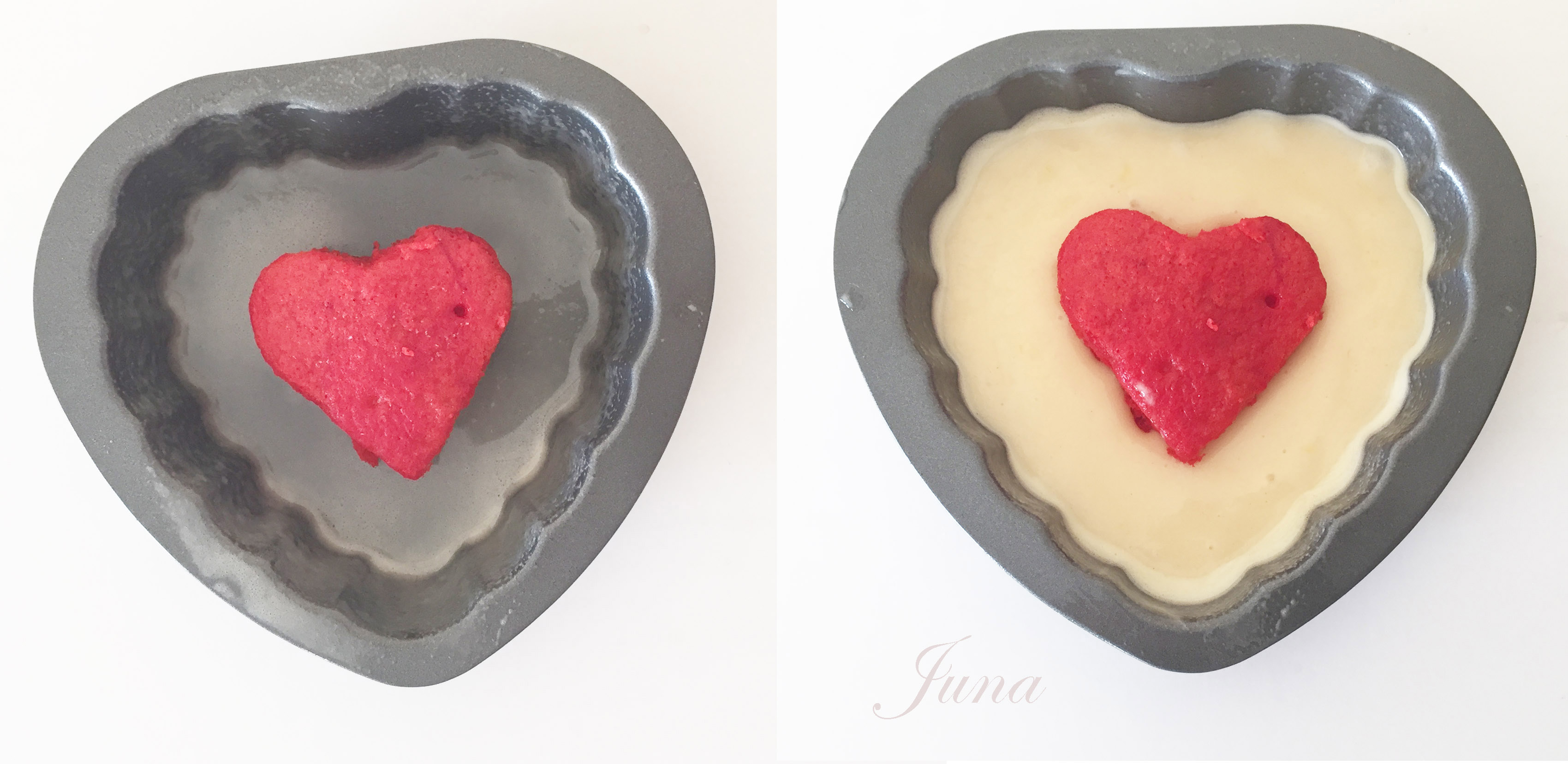 bizcocho-corazon-en-molde