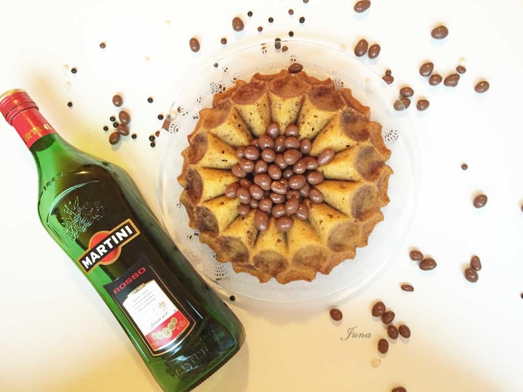 Bizcocho-Martini