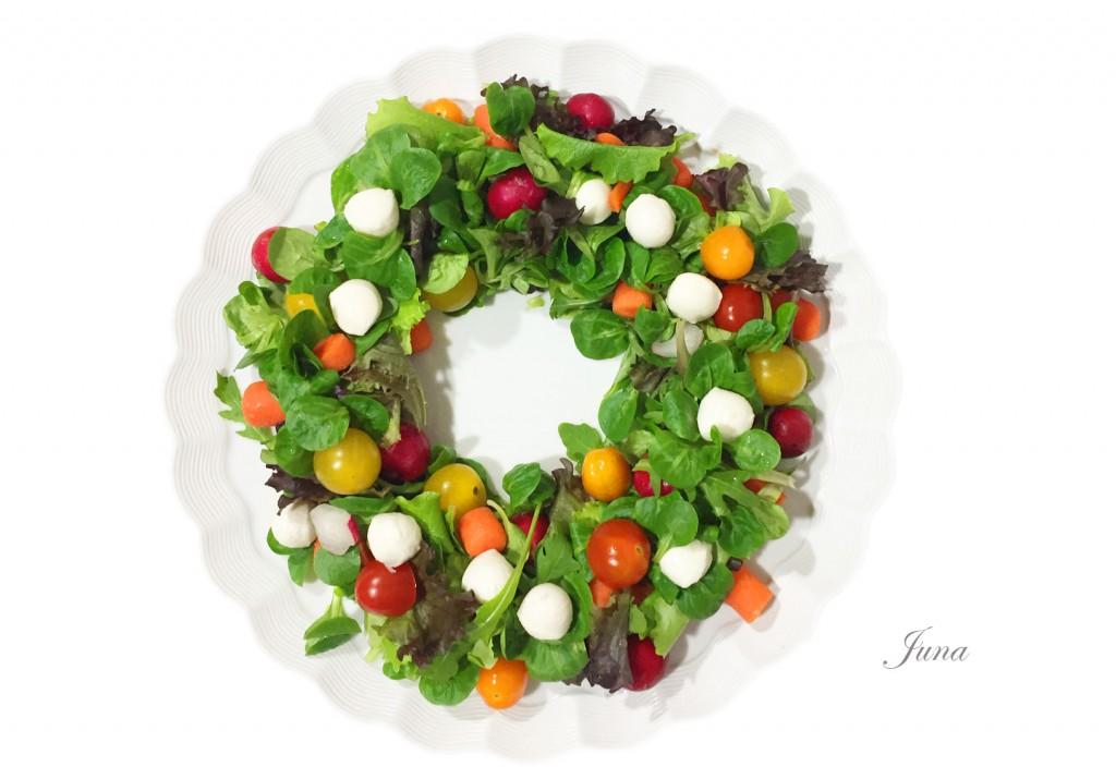 corona-navidad-ensalada