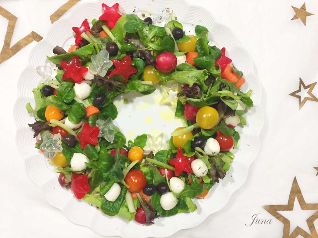 ensalada-corona-navidad-estrella