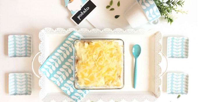 Pastel o lasaña de patata y carne