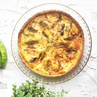quiche-pimientos-beicon-queso|junaenlacocina.com