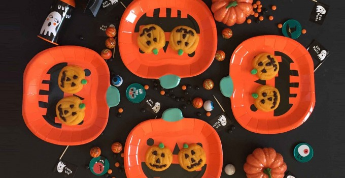 Calabazas dulce halloween