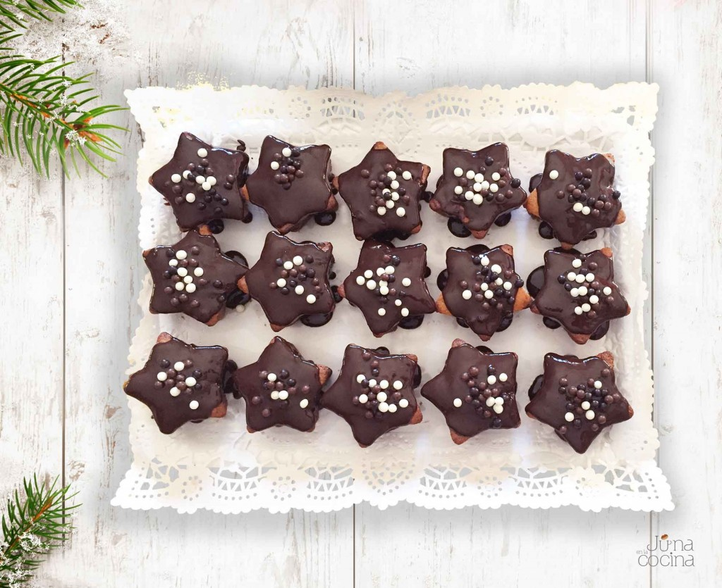 estrellas-bizcocho-chocolate