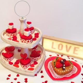 Corazones dulces san valentin