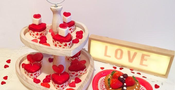 Corazones dulces para San Valentin