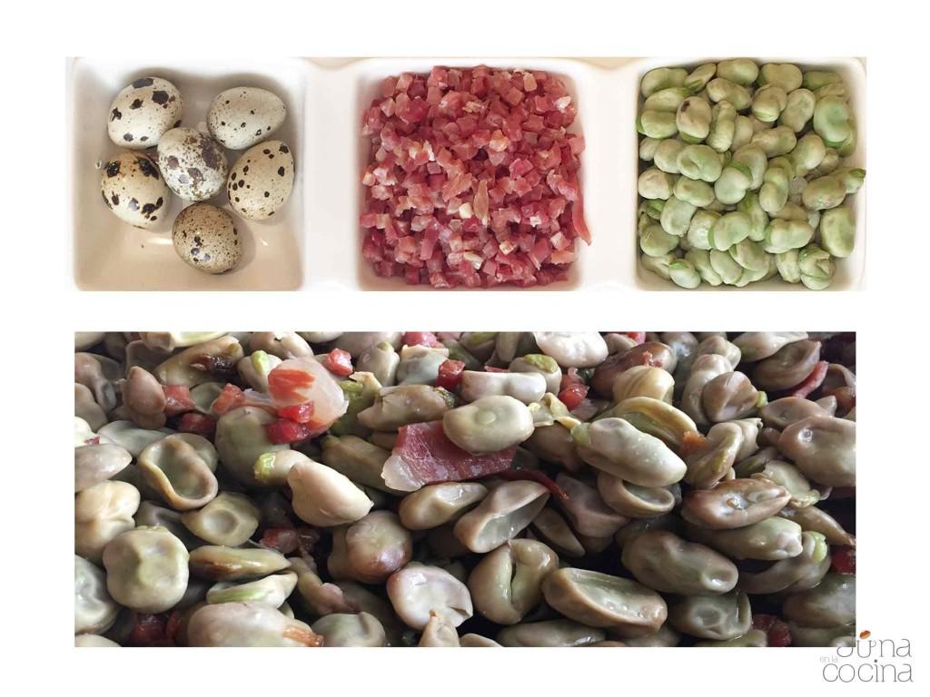 habitas-con-jamon-huevo-codorniz-ingredientes