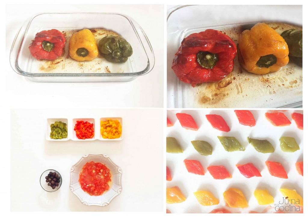 ensalada-de-tomate-y-pimientos-pasos