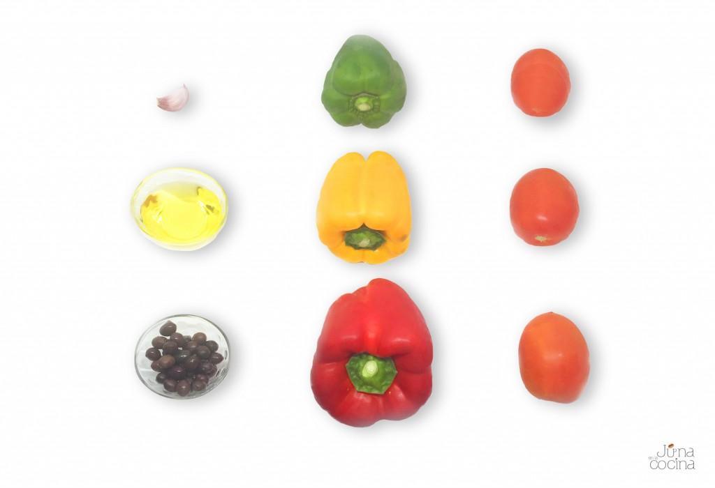 ingredientes-ensalada-de-tomate-y-pimientos