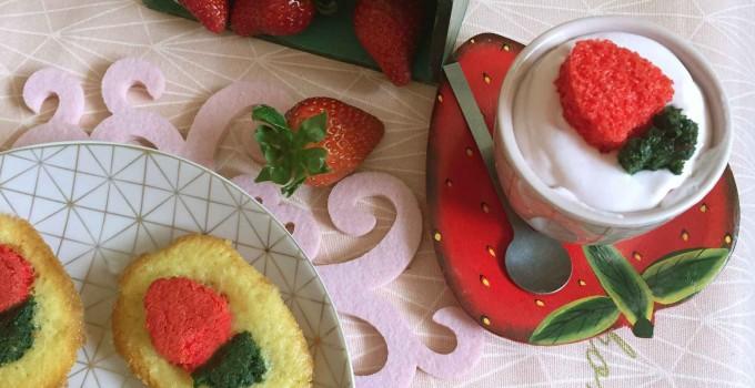 Muselina de fresas