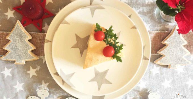 Pastel salado para navidad