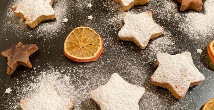 Bizcocho de naranja (navideño)