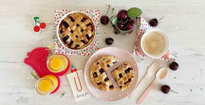 Cherry pie, pastel de cerezas